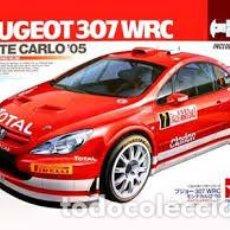 Maquetas: TAMIYA - PEUGEOT 307 WRC MONTECARLO ´05 CHASIS METALICO 24285 1/24. Lote 103613747