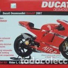 Maquetas: ITALERI - DUCATI DESMOSEDICI MOTO GP 2007 04636 1/9. Lote 110415211