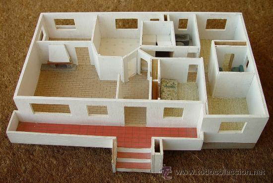 Maqueta en madera de casa chalet sanna comprar - Como hacer una maqueta de una casa ...