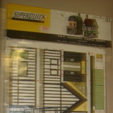 Maquetas: SUPERQUICK. SERIE B. Nº 22. TWO COUNTRY TOWN SHOPS. Lote 37451996