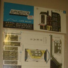 Maquetas: SUPERQUICK. SERIE C. Nº 1. HOTEL, OFFICES AND RESTAURANT. Lote 37452019