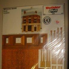 Maquetas: BUILDER PLUS. BPOO18. BANK. Lote 37452145