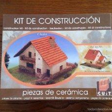 Maquetas: MAQUETA MINIATURA - MINI CHALET - CUIT 03.501. COMPLETO.. Lote 56671617