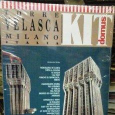 Maquetas: MAQUETA TORRE VELASCA. MILANO. ITALIA. Lote 69424997