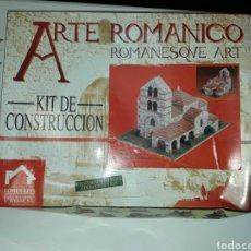 Maquetas: ARTE ROMANICO S.SALVADOR DE CANTAMUDA REF.40087 - DOMUS-KITS - MAQUETA SIN ABRIR . Lote 84414607