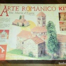 Maquetas: ARTE ROMANICO. IGLESIA DE STA. MARIA DE EGARA. DOMUS-KITS 40802. Lote 95652687