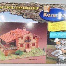 Maquetas: KIT DE FACIL CONSTRUCCION CASA DE CANTABRIA KERANOVA 30204. Lote 95826271
