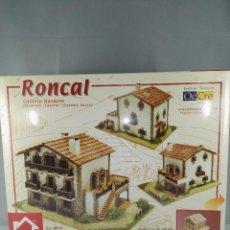 Maquetas: KIT DE CONSTRUCCION CASERIO NAVARRO RONCAL DOMUS KITS 40956 ESCALA 1:60. Lote 95826691