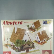Maquetas: KIT DE CONSTRUCCION CASA VALENCIANA ALBUFERA DOMUS KITS 40960 ESCALA 1:60. Lote 95826795