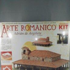 Maquetas: KIT DE CONSTRUCCION ARTE ROMANICO SANT ADRIAN DE ARGIÑETA DOMUS KITS 40097 ESCALA 1:65. Lote 95826967