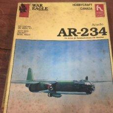 Maquetas: MAQUETA AVION MILITAR WAR EAGLE HOBBYCRAFT - AR-234. Lote 80543394