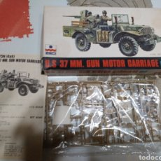 Maquetas: ESCI U.S 37MM GUN MOTOR CARRIAGE M6. Lote 93909184