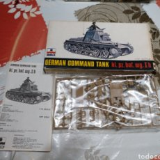 Maquetas: ESCI GERMAN COMMAND TANK. Lote 93909415
