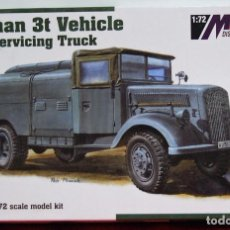 Maquetas: MAQUETA GERMAN 3T VEHICLE FUEL SERVICING TRUK ESCALA 1/72. Lote 95748551