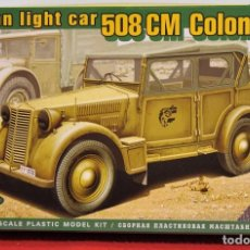 Maquetas: MAQUETA ITALIAN LIGHT CAR 508 CM COLONIALE ESCALA 1/72. Lote 95793939