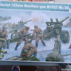 Maquetas: SOVIET 152MM HOWITZER-GUN . Lote 99270006