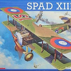 Maquetas: SPAD XIII - REVELL 1/48. Lote 99742631