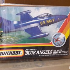 Maquetas: MATCHBOX BLUE ANGELS F9F-5 PANTHER. Lote 101999411