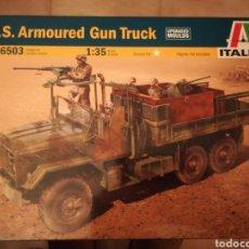 Maquetas: U. S. ARMORED GUN TRUCK. Lote 103626744