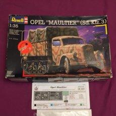 Maquetas: OPEL MAULTIER SD.KFZ 3 1:35 REVELL 03026 FOTOGRABADOS EDUARD 35587 MAQUETA SEMIORUGA CARRO CAMIÓN. Lote 103743552
