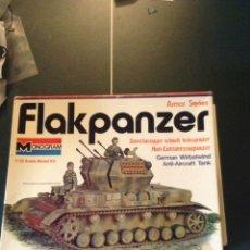 Maquetas: CARRO ANTIAEREO FLAKPANZER IV DE MONOGRAM 1/32. Lote 104535551