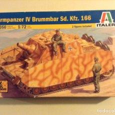 Maquetas: STURMPANZER IV BRUMMBAR ITALERI 1/72. Lote 106541303