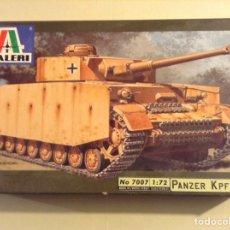 Maquetas: PANZER IV ITALERI 1/72 (VER FOTOS). Lote 106541391