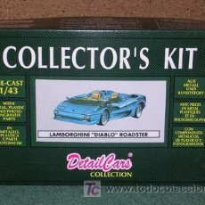 Maquetas: DETAILS CAR KIT LAMBORGHINI DIABLO ROADSTER 1/43 MAGIC CAR. Lote 24343950