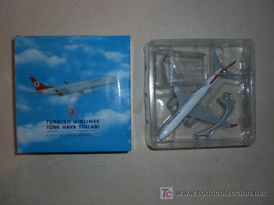 MAQUETA DE AVIONETA METALICA - MODELO B737 - 800 - (Juguetes - Modelismo y Radio Control - Maquetas - Aviones y Helicópteros)