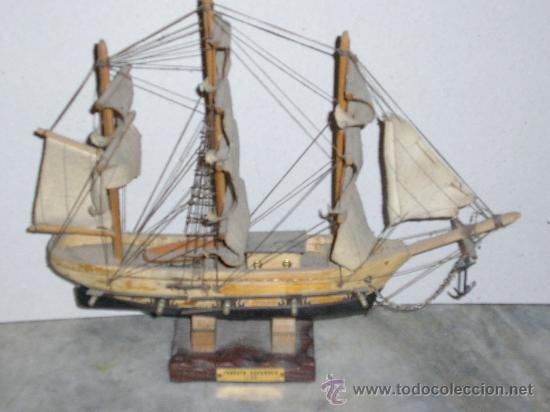 BARCO MAQUETA DE MADERA **FRAGATA ESPAÑOLA 1780** (Juguetes - Modelismo y Radiocontrol - Maquetas - Barcos)
