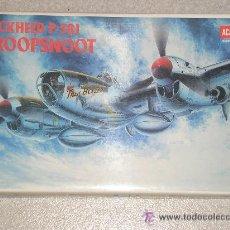 Maquetas: LOCKHEED P-38J DROOPSNOOT MAQUETA AVION 1/48 ACADEMY - NUEVA A ESTRENAR. Lote 26417999