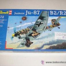 Maquetas: JUNKERS JU-87 B2/R2 MAQUETA AVION ESCALA 1/72 - 15,6 X 19,2 - REVELL - NUEVO A ESTRENAR. Lote 26331595