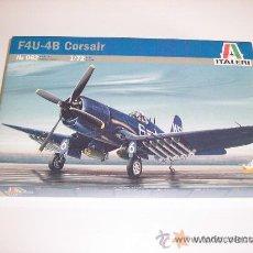 Maquetas: F4U-4B CORSAIR MAQUETA AVIONESCALA 1/72 ITALERI - NUEVA A ESTRENAR. Lote 25321225