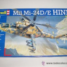 Maquetas: HELICOPTERO MIL MI-24D/E HIND REVELL MAQUETA ESCALA 1/72 - NUEVA A ESTRENAR. Lote 26826005