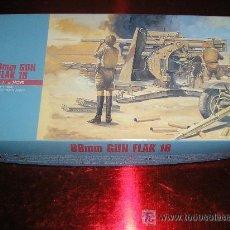 Macchiette: CAÑON 88MM GUN FLAK 18 MAQUETA 1/72 HASEGAWA - NUEVO A ESTRENAR. Lote 25819129