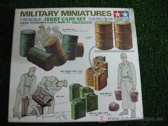 (TAMIYA) SET DE MINIATURAS MILITARES ESCALA 1/35 (Juguetes - Modelismo y Radiocontrol - Maquetas - Militar)