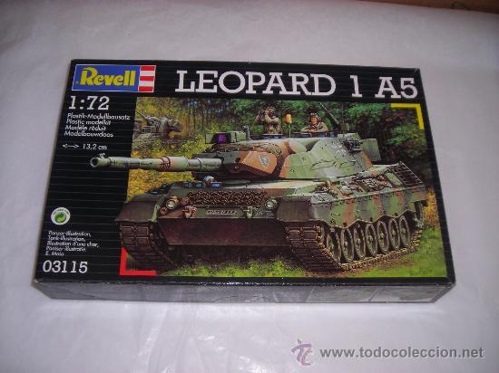 LEOPARD 1 A5 MAQUETA TANQUE 1/72 REVELL - NUEVO A ESTRENAR (Juguetes - Modelismo y Radiocontrol - Maquetas - Militar)