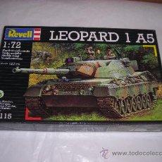 Maquetas: LEOPARD 1 A5 MAQUETA TANQUE 1/72 REVELL - NUEVO A ESTRENAR. Lote 27104132