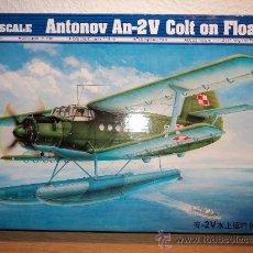 Maquetas: MAQUETA ANTONOV AN-2V COLT ON FLOAT, ESCALA 1/72, MARCA TRUMPETER.-. Lote 26584713
