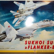 Maquetas: MAQUETA SUKHOI SU-27 FLANKER-B, ESCALA 1/72, MARCA ITALERI.-. Lote 26461783
