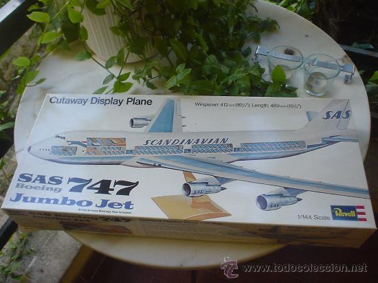 MAQUETA(SIN MONTAR) DEL AVION BOEING 747. JUMBO JET. (Juguetes - Modelismo y Radio Control - Maquetas - Aviones y Helicópteros)