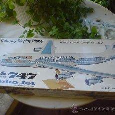 Maquetas: MAQUETA(SIN MONTAR) DEL AVION BOEING 747. JUMBO JET.. Lote 27278468