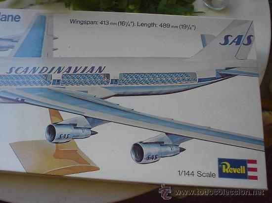 Maquetas: MAQUETA(SIN MONTAR) DEL AVION BOEING 747. JUMBO JET. - Foto 3 - 27278468