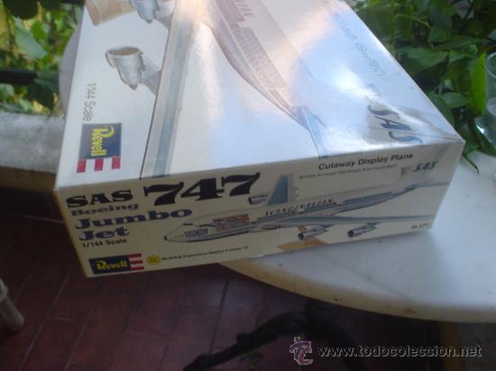 Maquetas: MAQUETA(SIN MONTAR) DEL AVION BOEING 747. JUMBO JET. - Foto 4 - 27278468