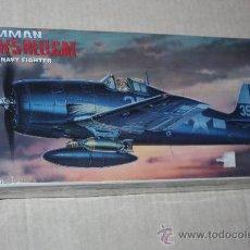 Maquetas: MAQUETA KIT DE ACADEMY A ESCALA 1/72 :AVION GRUMMAN F6F-3/5 HEWLLCAT (NUEVO). . Lote 26366671