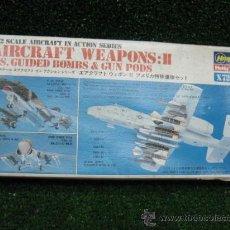 Maquetas: HASEGAWA HOBBY KITS - AIRCRAFT WEAPONS: II X72-2 1:72. Lote 25880408