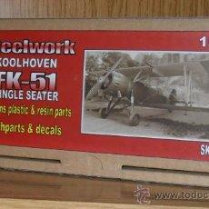 Maquetas: STEELWORKSTE-SK7211KOOLHOVEN FK-51 SINGLE SEATER. Lote 26219122