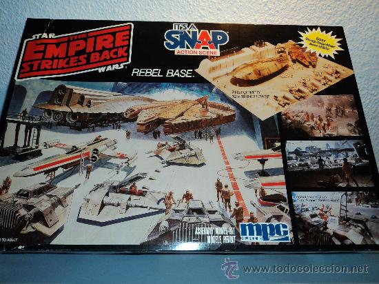Maquetas: Kit Star Wars Diorama Base Rebelde marca mpc. - Foto 1 - 38755047