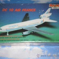 Maquetas: MAQUETA PLAYKIT TOY AVION DC 10 AIR FRANCE , ESCALA 1:288 . MADE IN ITALY , AÑOS 80 .. Lote 27715936