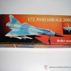 Maquetas: AMD MIRAGE 2000 MAQUETA AVION 1/72 HELLER HUMBROL - ARTICULO NUEVO. Lote 27719909